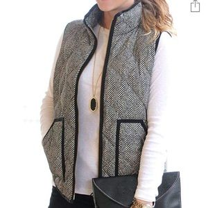 Black and white stylish vest